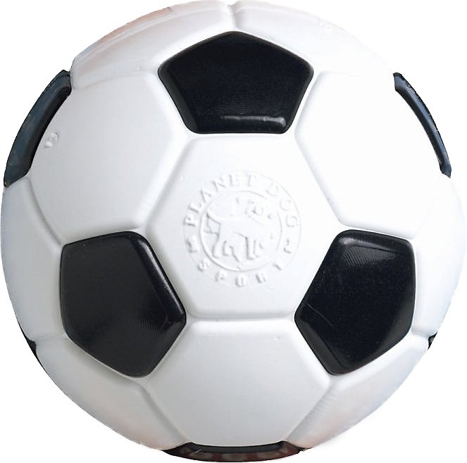 Planet Dog Orbee-Tuff Sport Soccer Ball Dog Toy, 5-in
