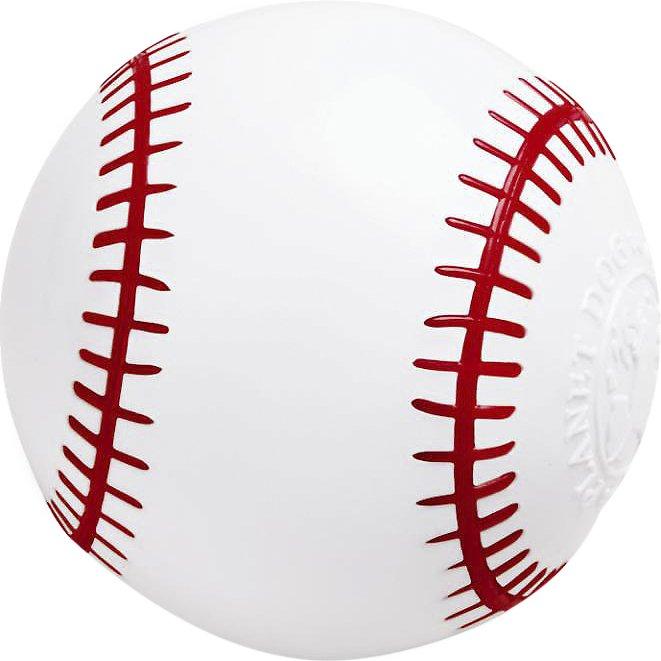 Planet Dog Orbee-Tuff Sport Baseball Dog Toy, 3.25-in