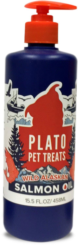 Plato Wild Alaskan Salmon Oil Dog & Cat Suppliment Image