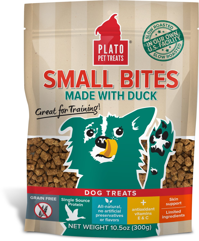 Plato Small Bites Slow Roasted Duck Dog Treats Image