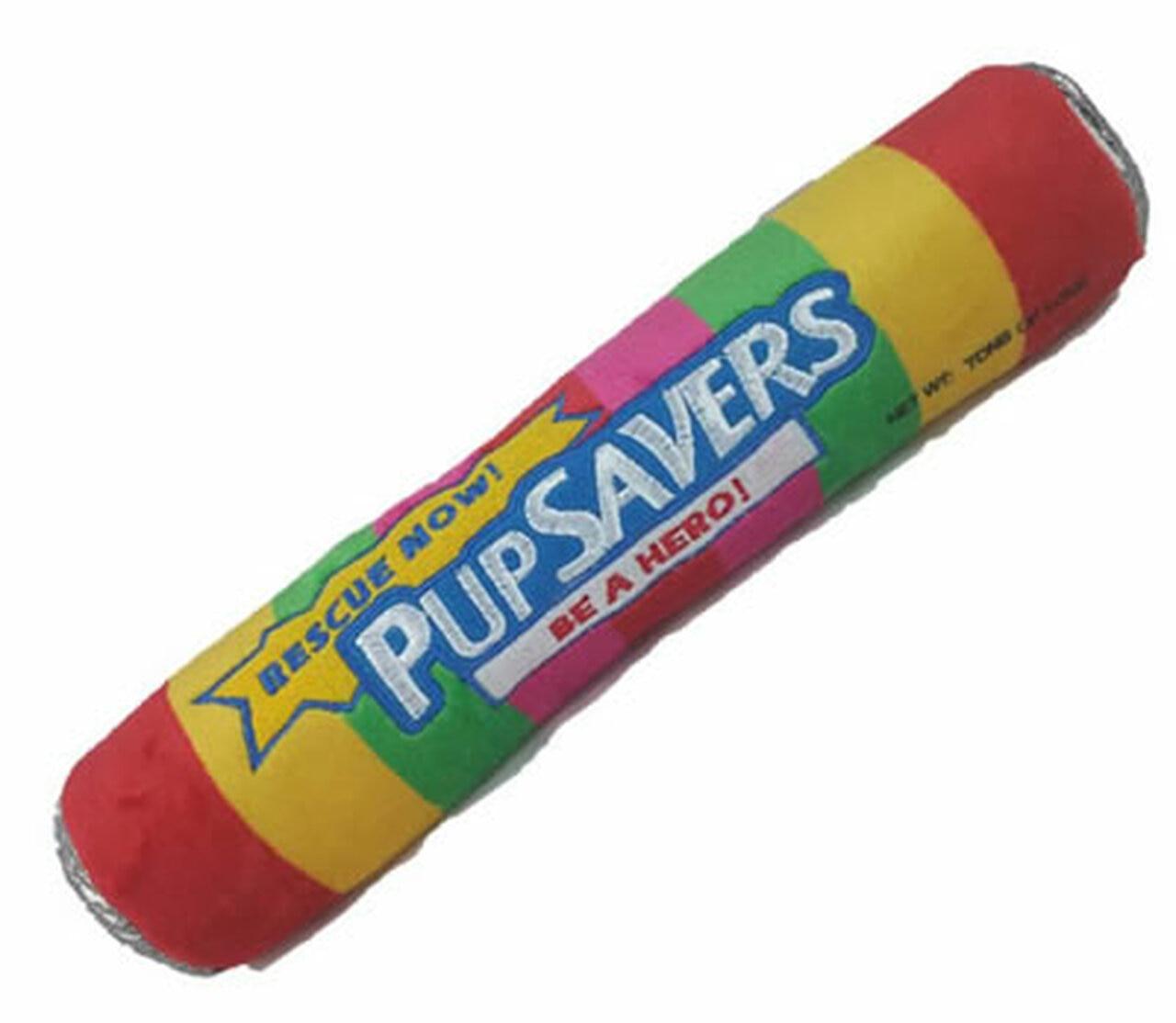 Lulubelles Power Plush Pupsavers Dog Toy, Small