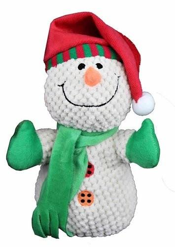Petlou Christmas Snowman Dog Toy, 8-in