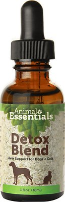 Animal Essentials Detox Blend Liver Support Dog & Cat Supplement, 1-oz bottle