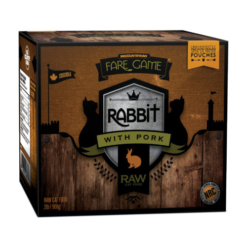 Big Country Raw Fare Game Rabbit and Pork Image