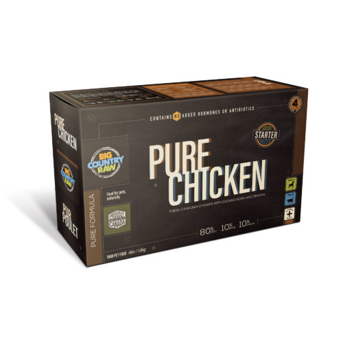 Big Country Raw Pure Chicken, 4-lb