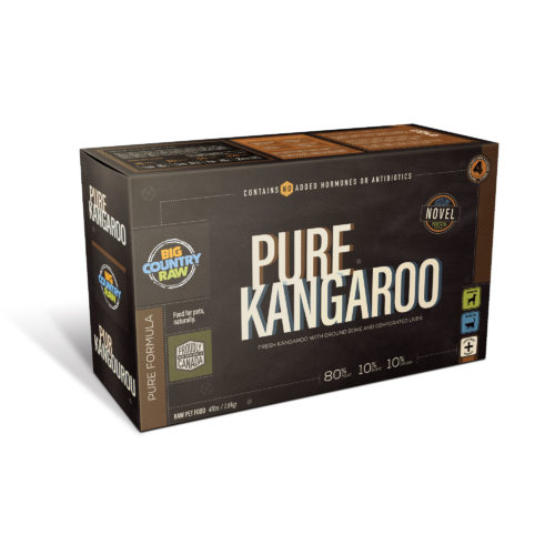 Big Country Raw Pure Kangaroo, 4-lb