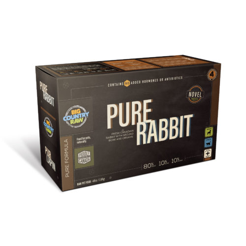 Big Country Raw Pure Rabbit, 4-lb