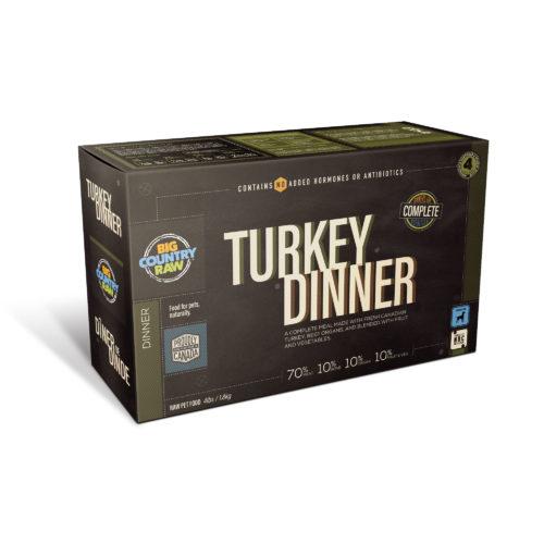 Big Country Raw Turkey Dinner, 4-lb