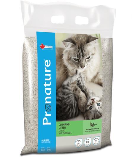 Pronature Holistic Eucalyptus Fragrance Clumping Cat Litter, 26.45-lb