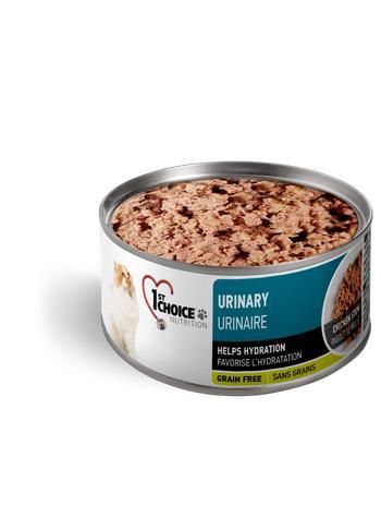 1st Choice Nutrition Urinary Chicken Stew Wet Cat Food, 5.5-oz