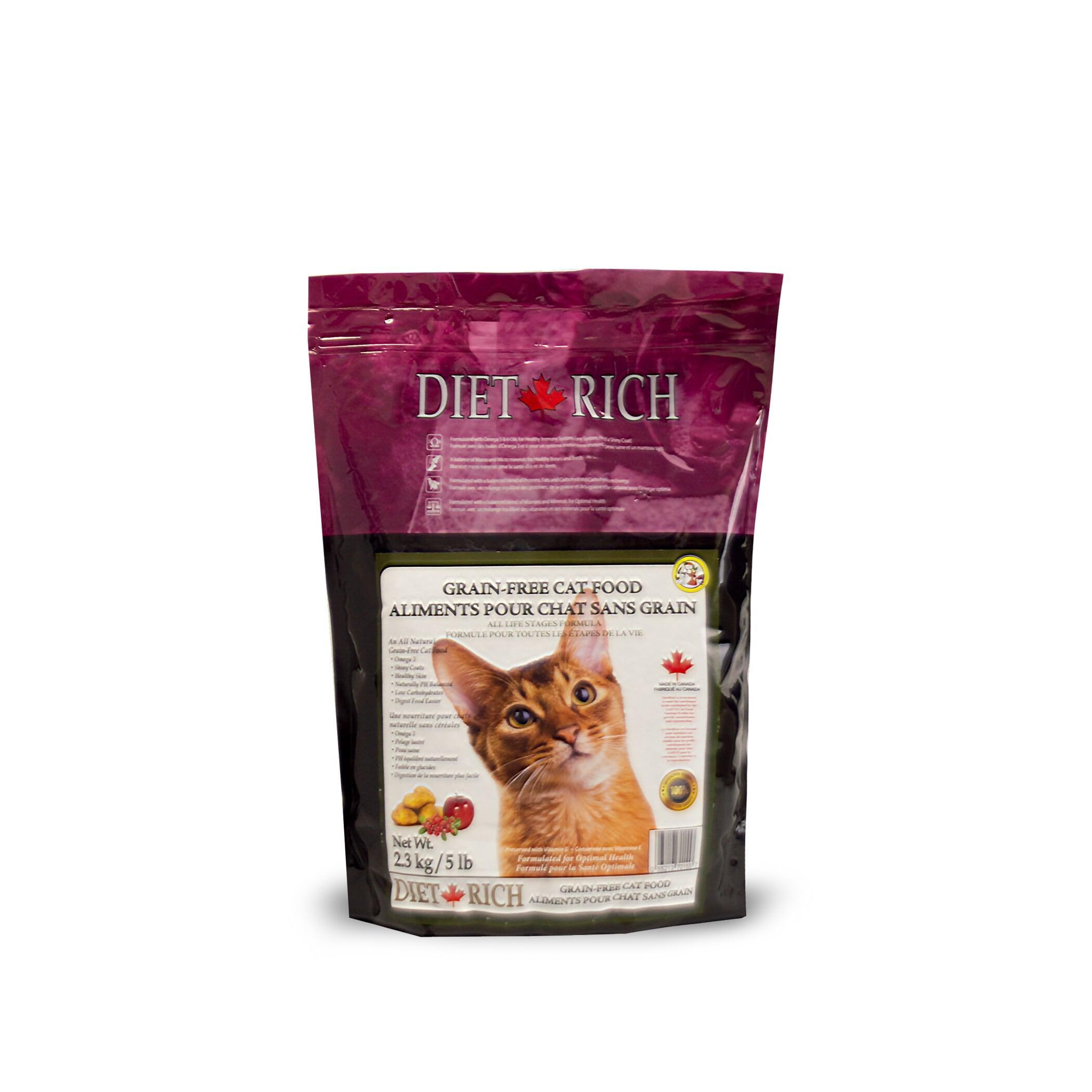 Dietrich Grain-Free Dry Cat Food, 2.3-kg