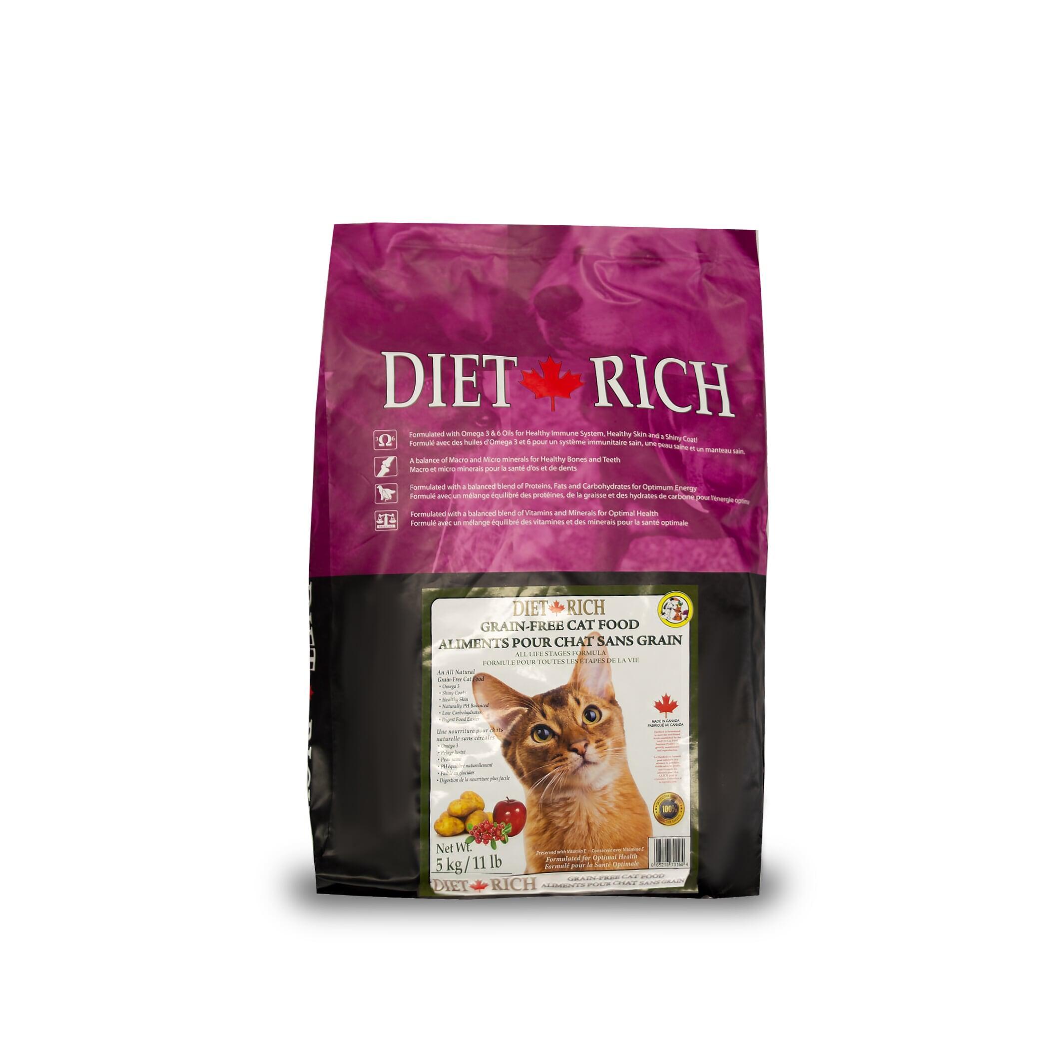 Dietrich Grain-Free Dry Cat Food, 5-kg