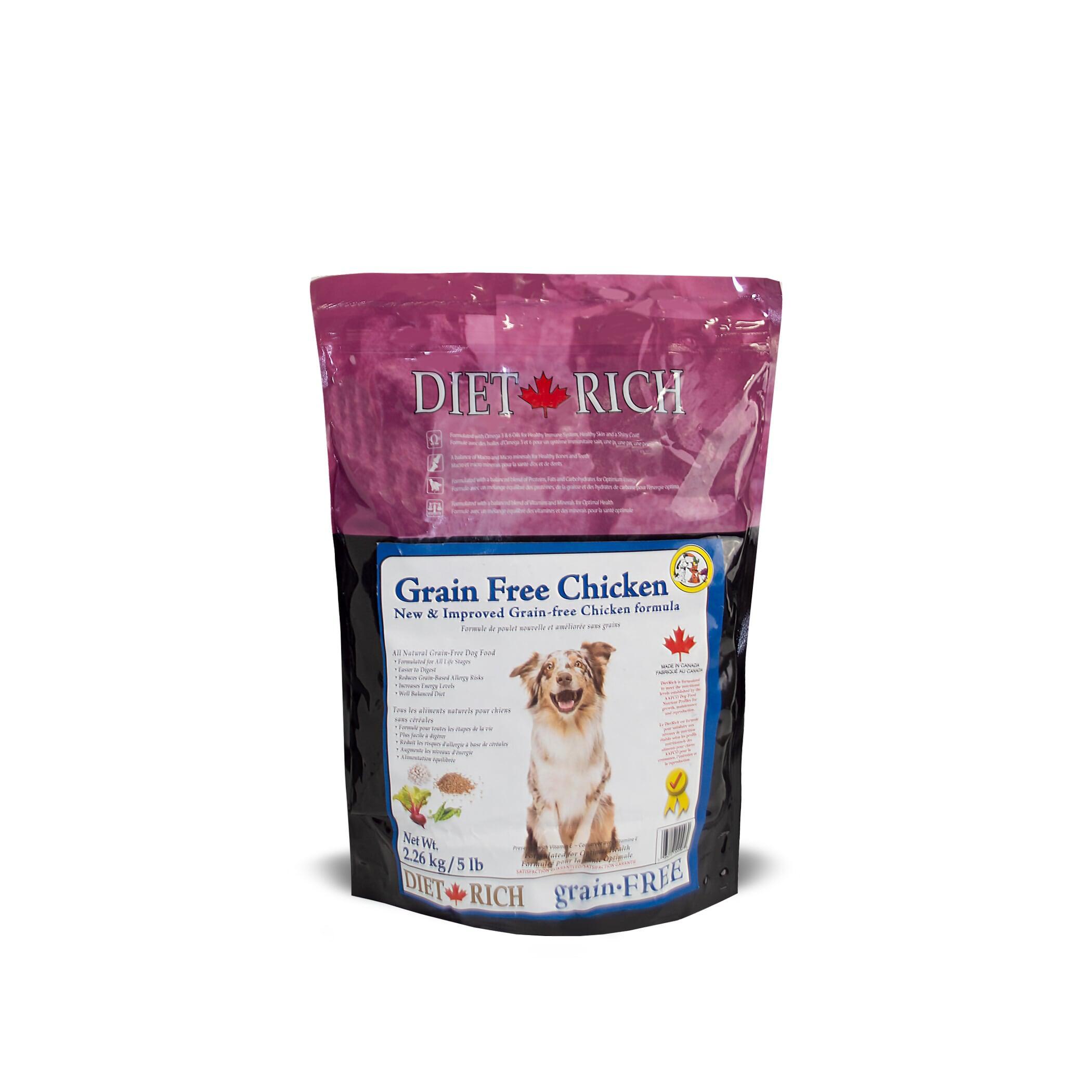 Dietrich Chicken Grain-Free Dry Dog Food, 2.26-kg