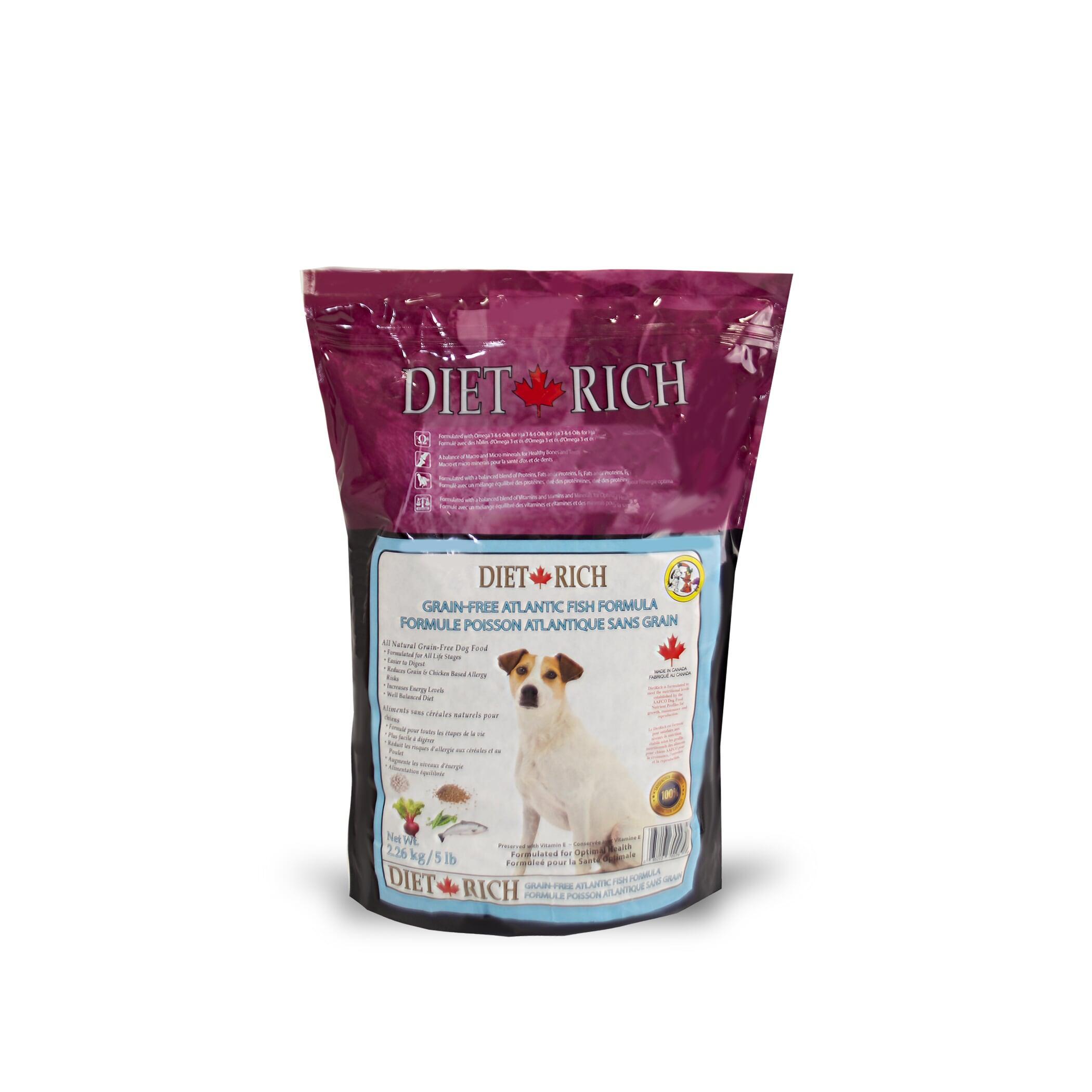 Dietrich Atlantic Fish Grain-Free Dry Dog Food, 2.26-kg