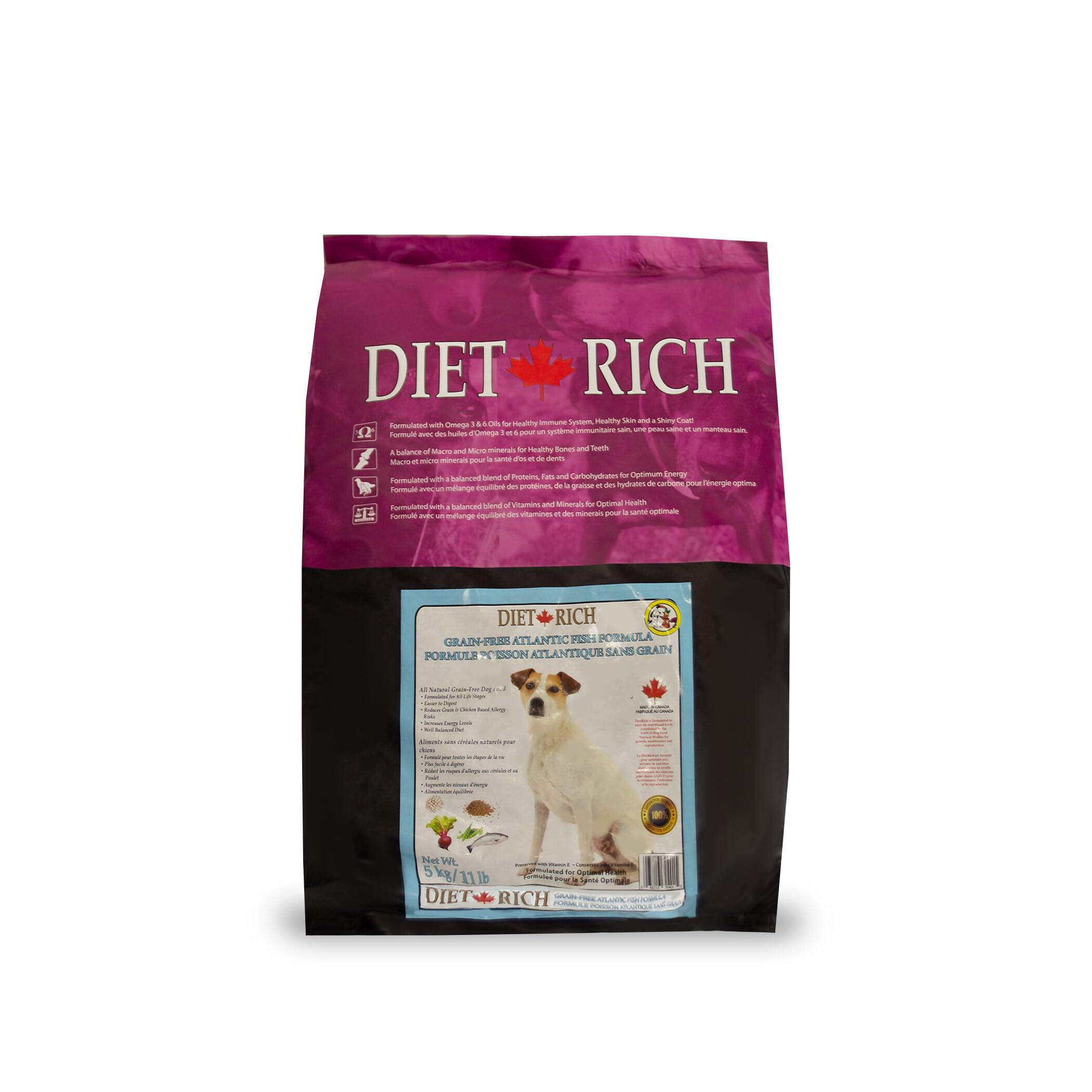 Dietrich Atlantic Fish Grain-Free Dry Dog Food, 5-kg