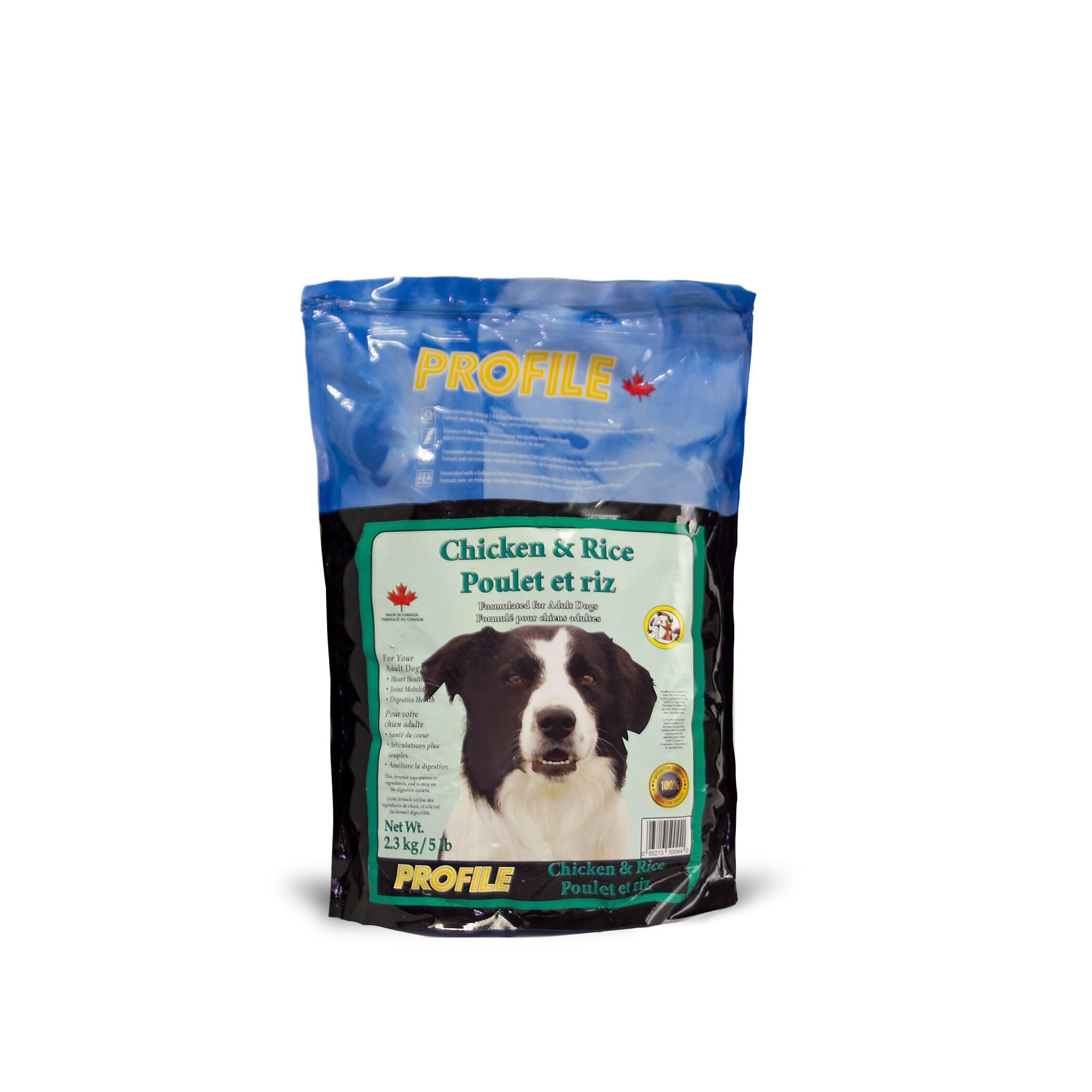 Profile Chicken & Rice Dry Dog Food Image
