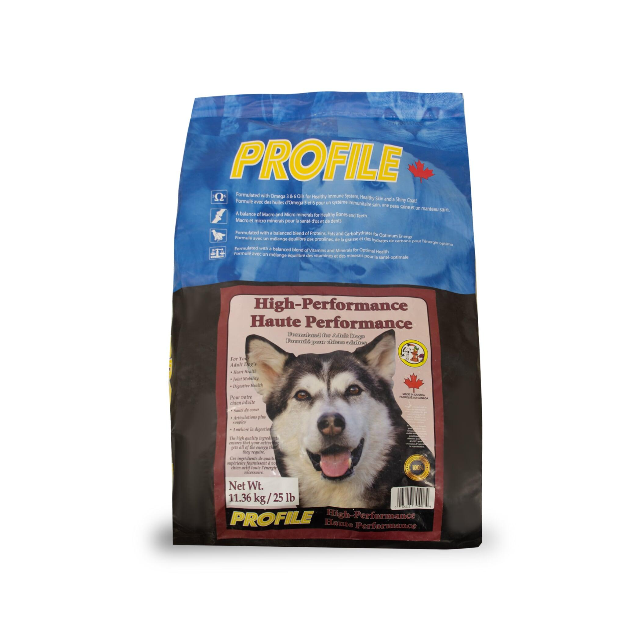 Profile High Performance Dry Dog Food, 11.36-kg