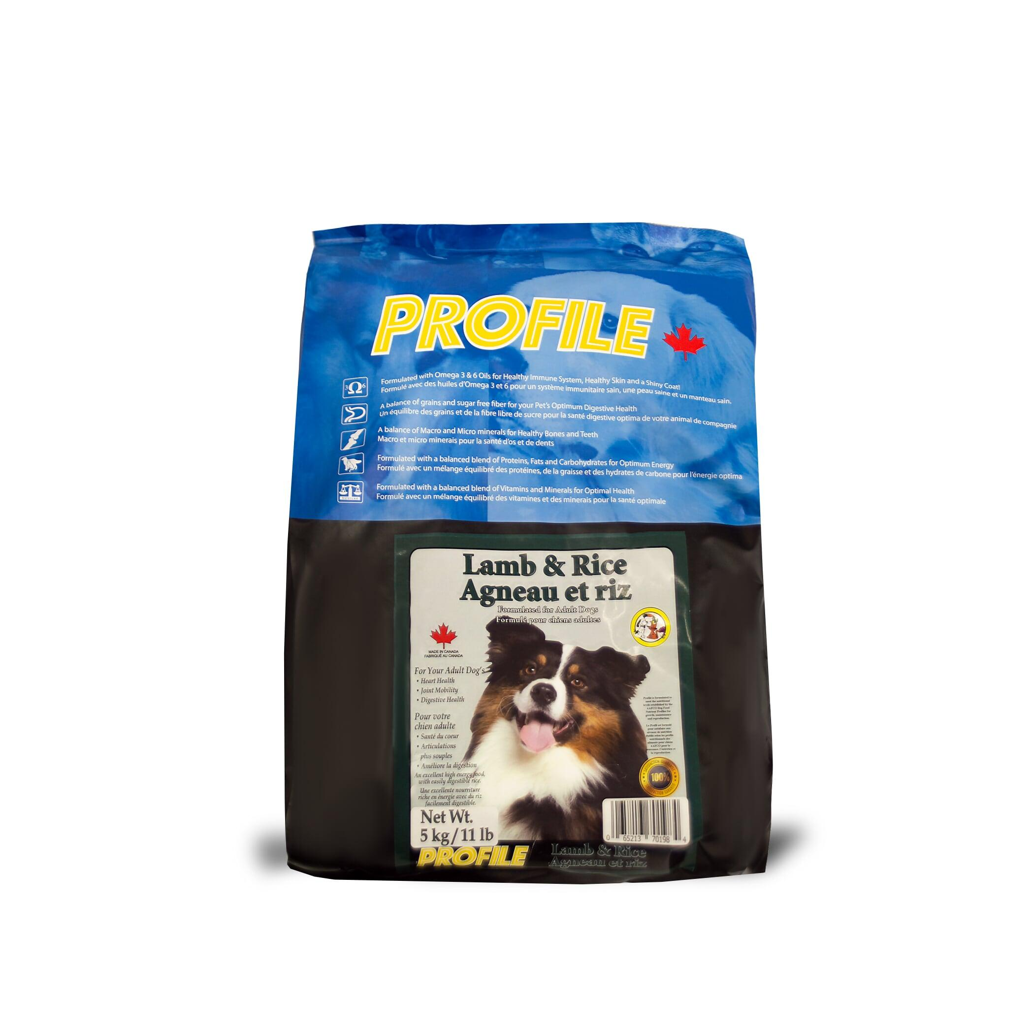 Profile Lamb & Rice Dry Dog Food, 5-kg