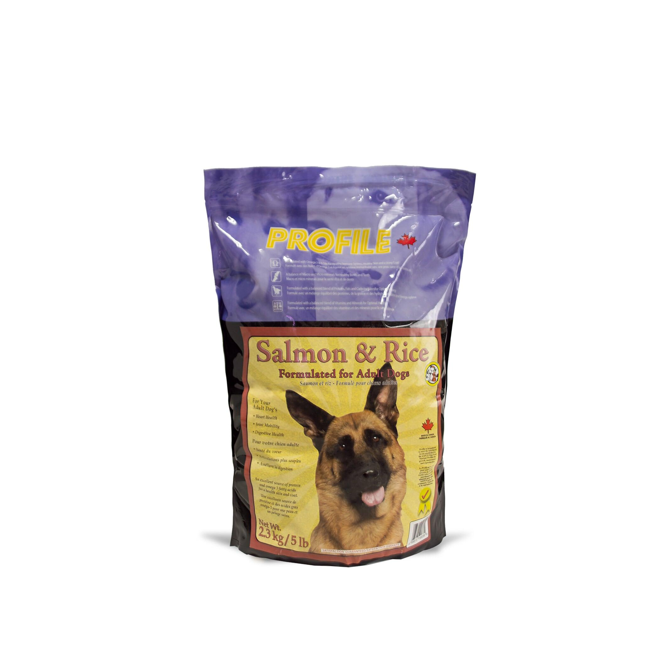 Profile Salmon & Rice Dry Dog Food, 2.3-kg