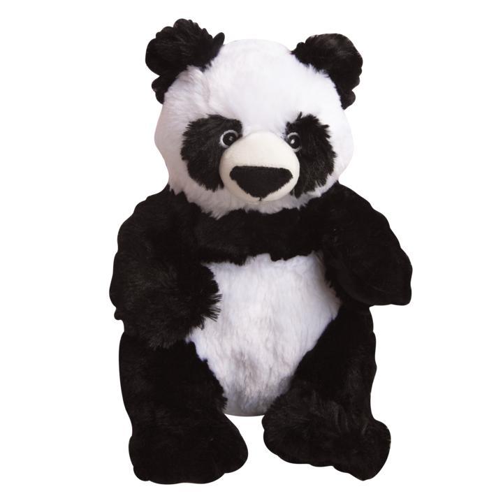 Snugarooz Amanda the Panda Dog Toy, 11-in