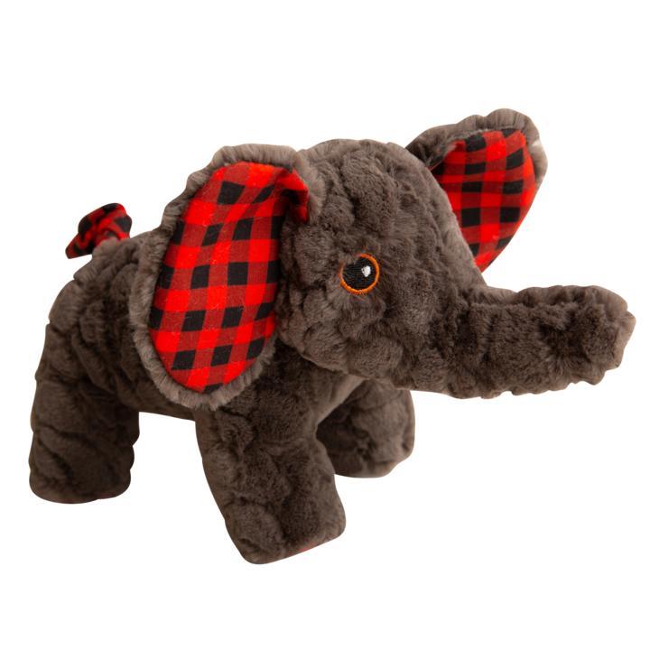 Snugarooz Eli the Elephant Dog Toy, 11-in