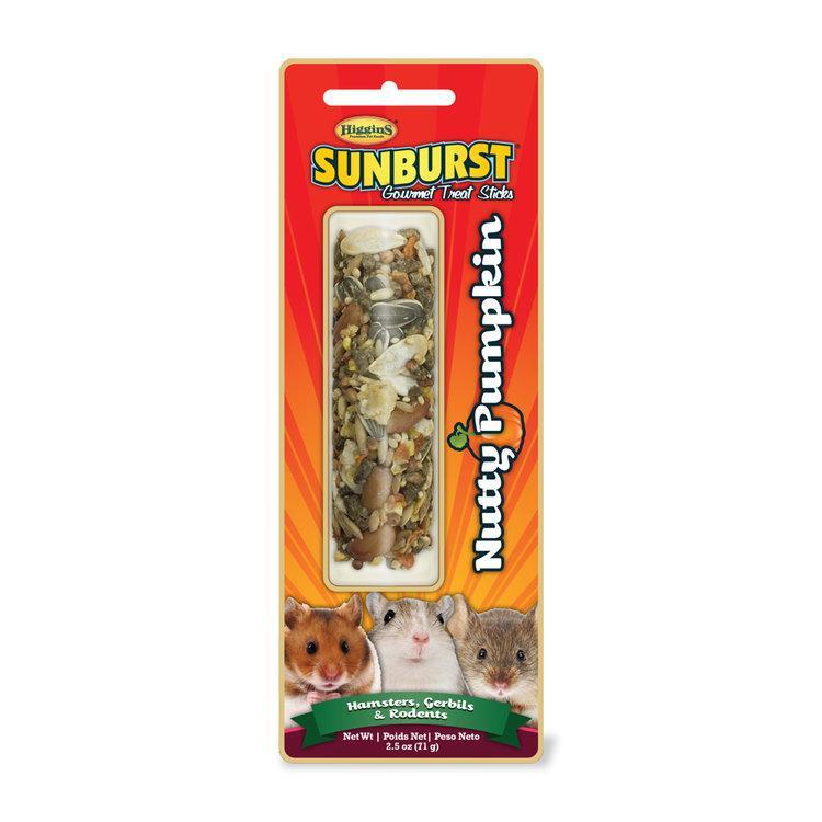 Higgins Sunburst Nutty Pumpkin Sticks Hamsters, Gerbils & Rodents Treats Image