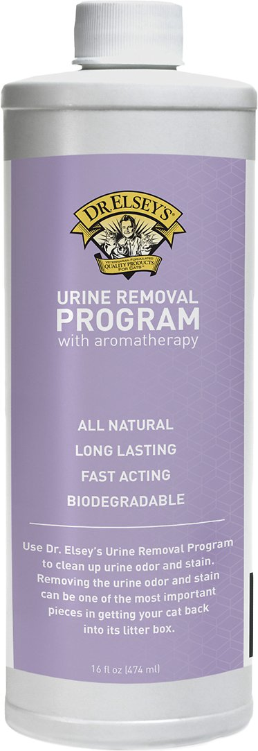 Dr. Elsey's Precious Cat Urine Removal Program with Aromatherapy, 16-oz bottle (Size: 16-oz bottle) Image