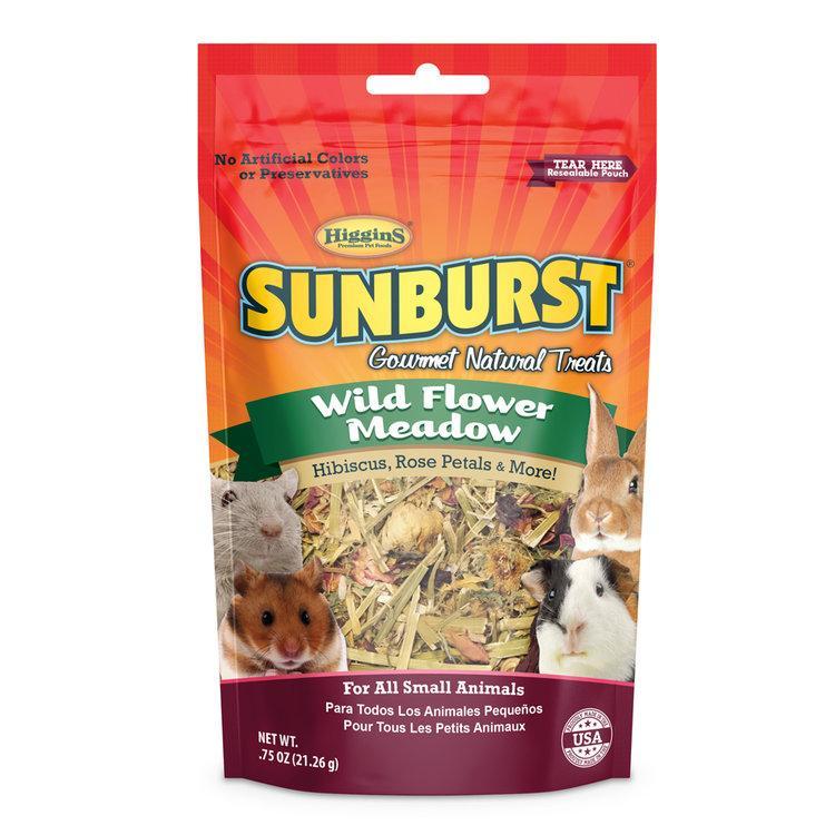 Higgins Sunburst Wild Flower Meadow Small Animal Treats Image