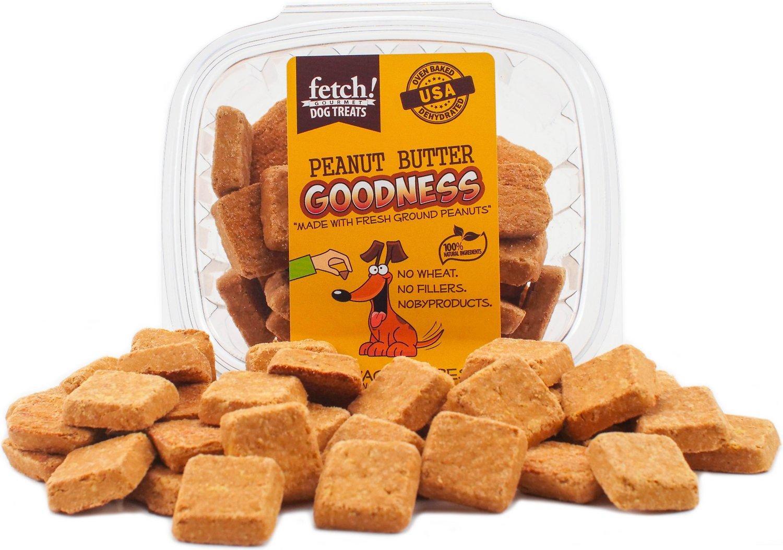 Fetch! Dog Treats Peanut Butter Goodness Dog Treats, 6-oz