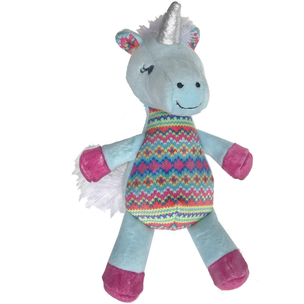 Lulubelles Unicorn Candy Cane Dog Toy Image
