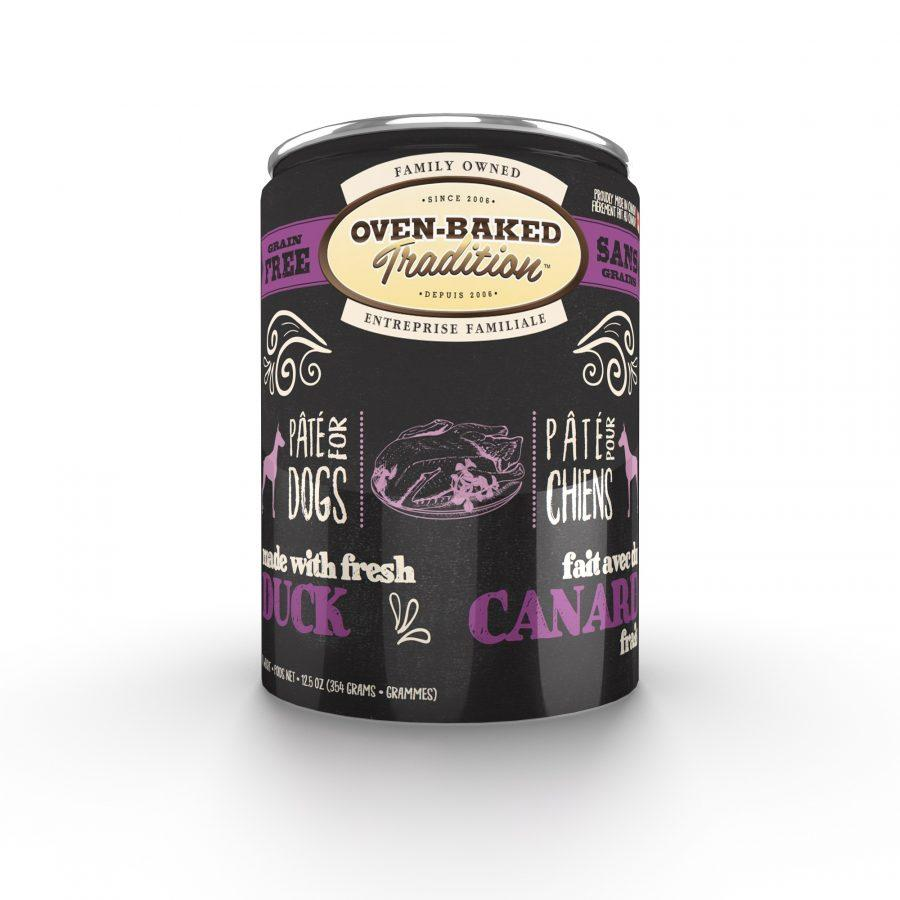 Oven-Baked Tradition Pate Duck Wet Dog Food, 12.5-oz