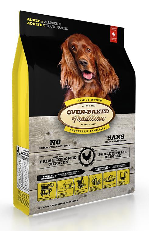 Oven-Baked Tradition Chicken Dry Dog Food, 25-lb