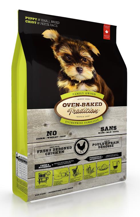 Oven-Baked Tradition Chicken Puppy Small Breed Dry Dog Food, 5-lb