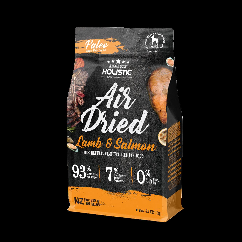 Absolute Holistic Dry Dog Foodm, Lamb & Salmon, 2.2-lb