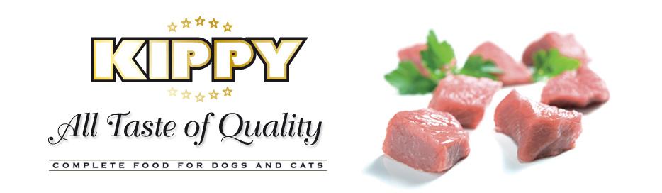Kippy Wet Cat Food, Beef, 400-g