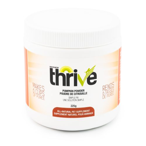 Thrive Pumpkin Powder Dog & Cat Supplement, 22-g