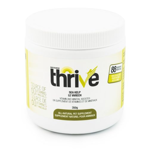 Thrive Sea Kelp Dog & Cat Supplement, 350-g