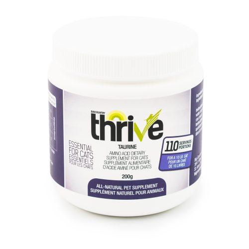 Thrive Taurine Dog & Cat Supplement, 200-g
