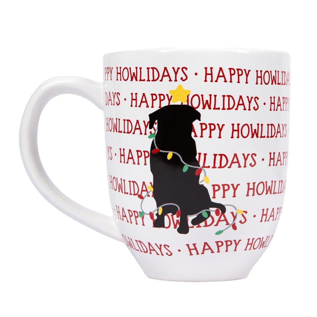 Pearhead Happy Howlidays Dog Mug Image