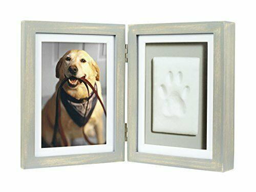 Pearhead Pawprints Desk Picture Frame