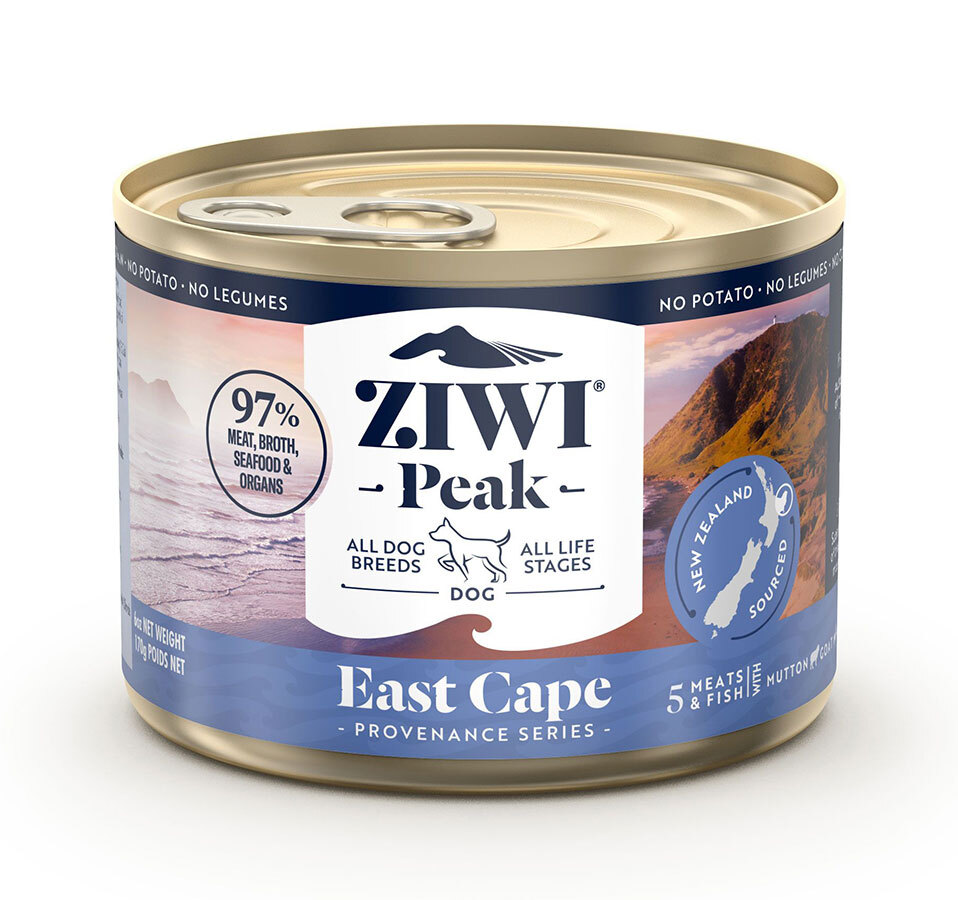 Ziwi Peak Provenance East Cape Canned Dog Food, 6-oz