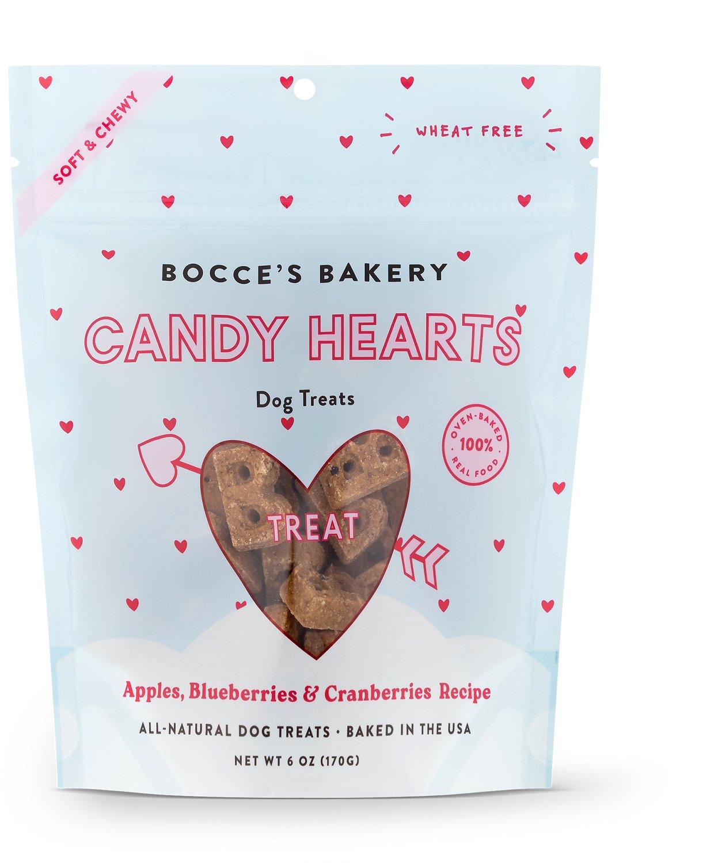 Bocce's Candy Hearts Treats 6-oz