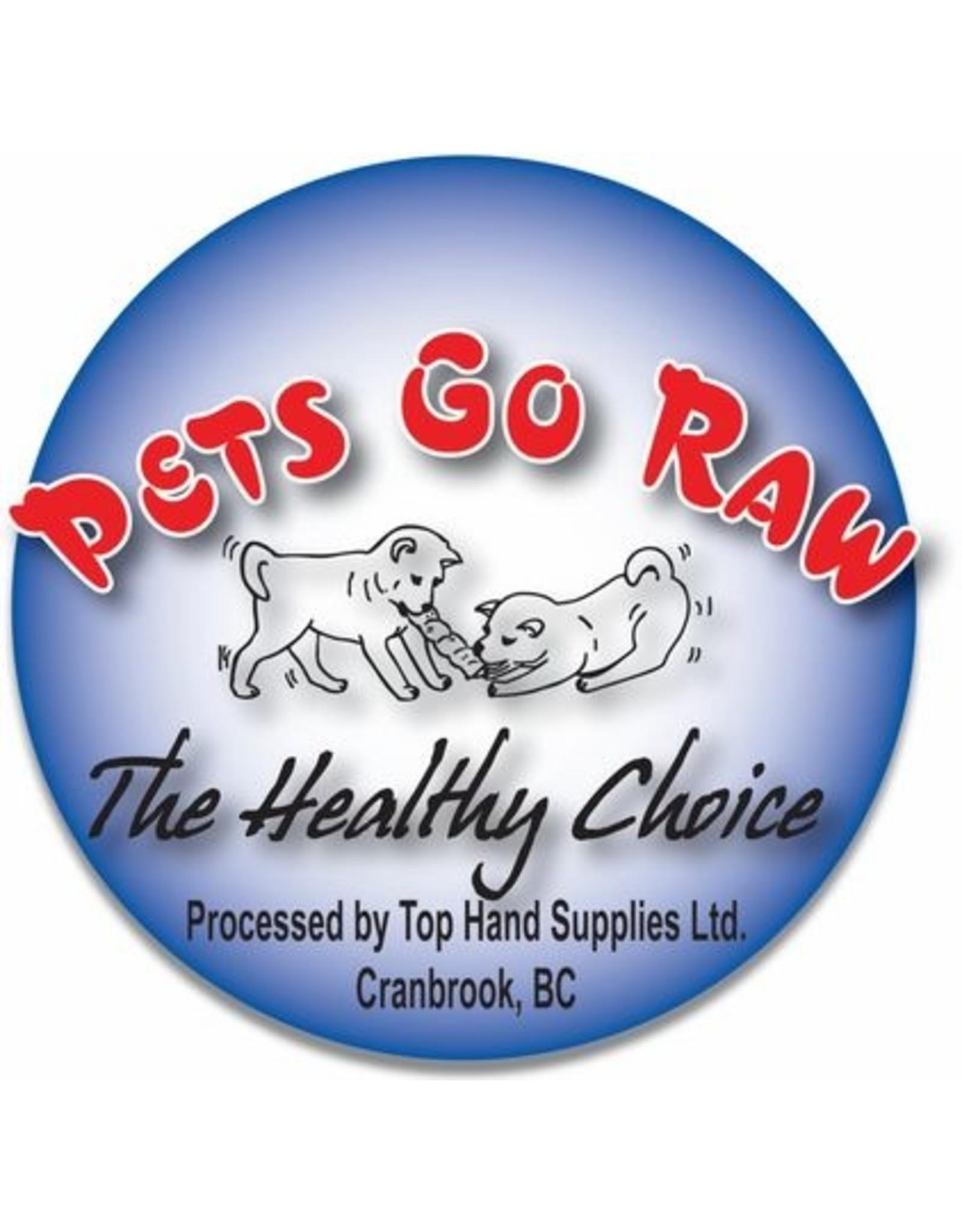 Pets Go Raw Turkey Full Meal Bulk