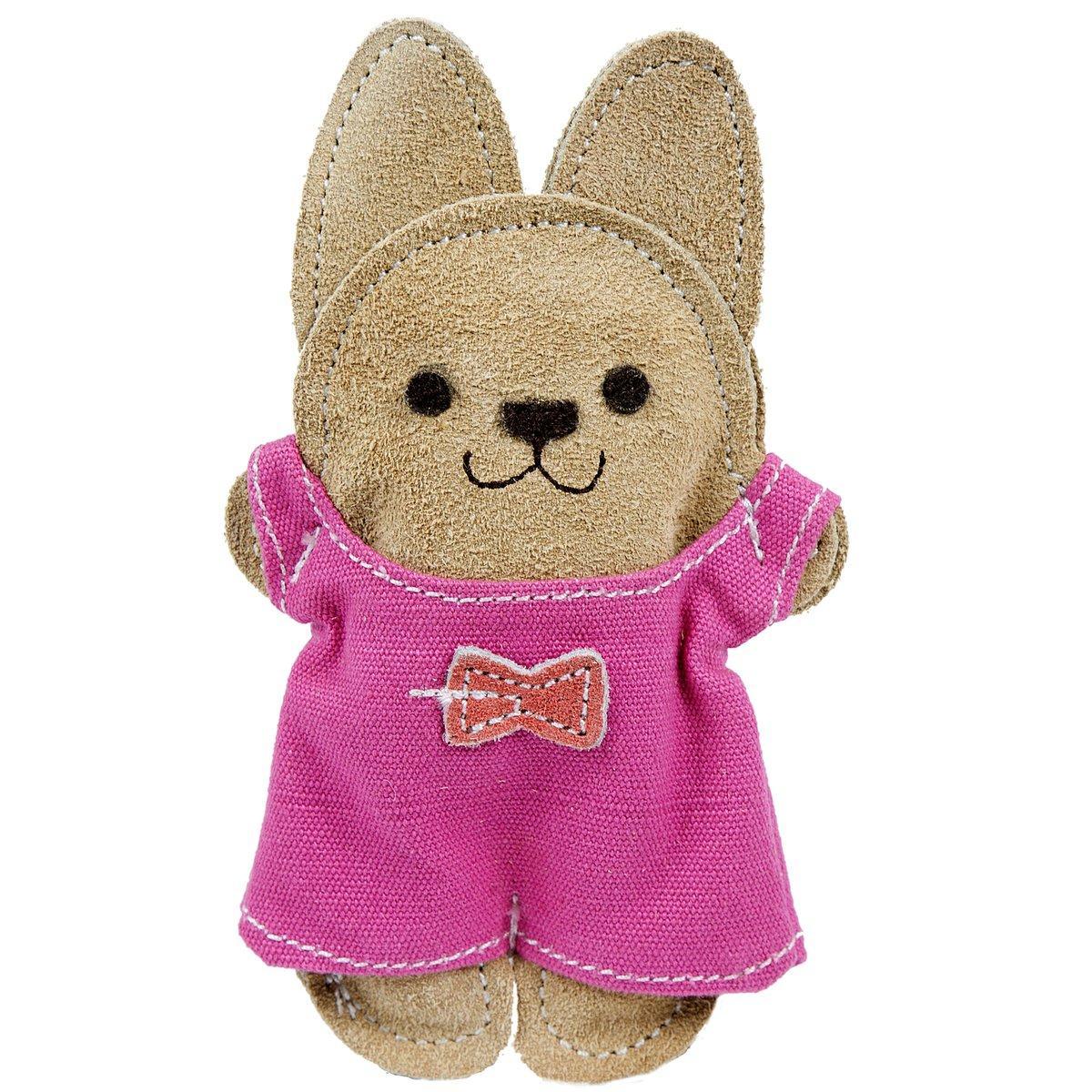 HuggleHounds Big-Wee Bunny Dog Toy