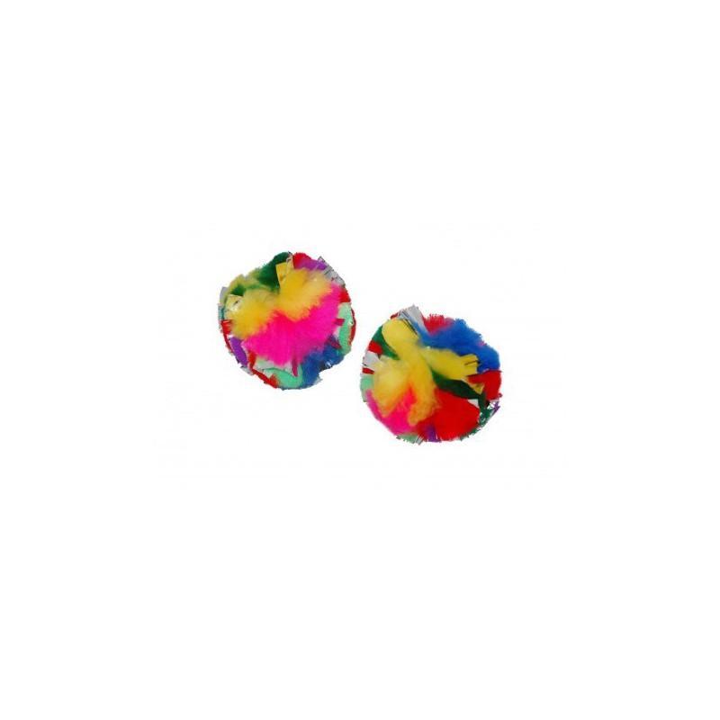 Cancor Jumbo Crinkle Ball Cat Toy, 1-count
