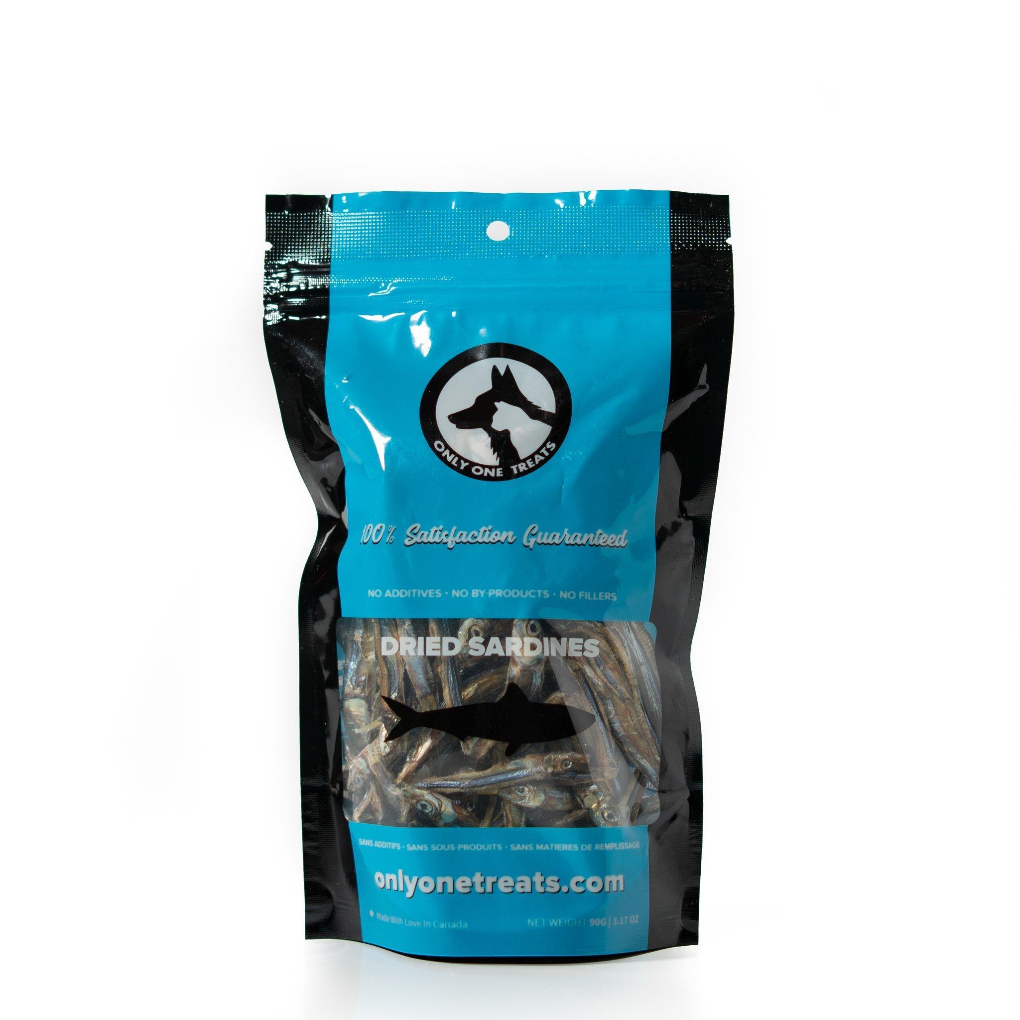 Only One Treats Dried Sardines Dog & Cat Treats, 90-gram