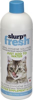 Enviro Fresh Slurp'n Fresh Oral Hygiene Solution for Cats, 400-mL