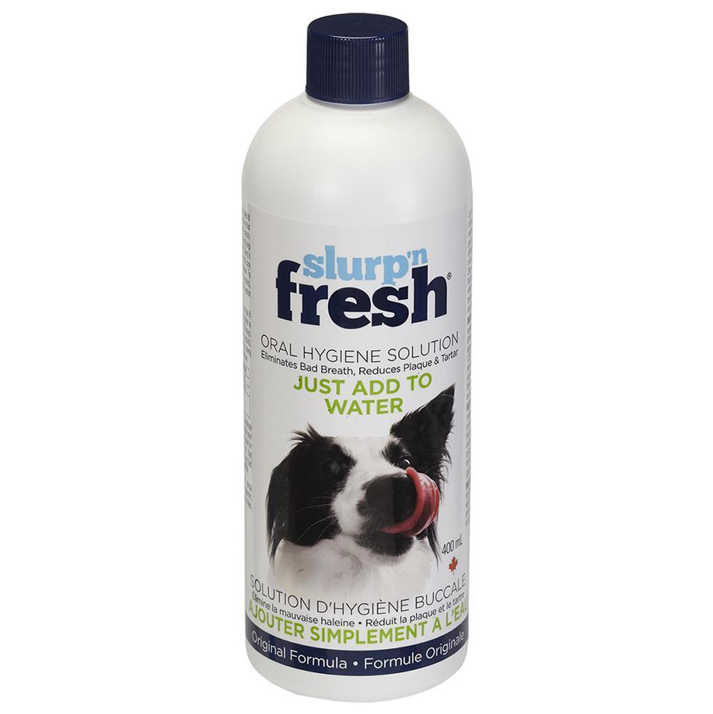 Enviro Fresh Slurp'n Fresh Oral Hygiene Solution for Dogs, 400-mL