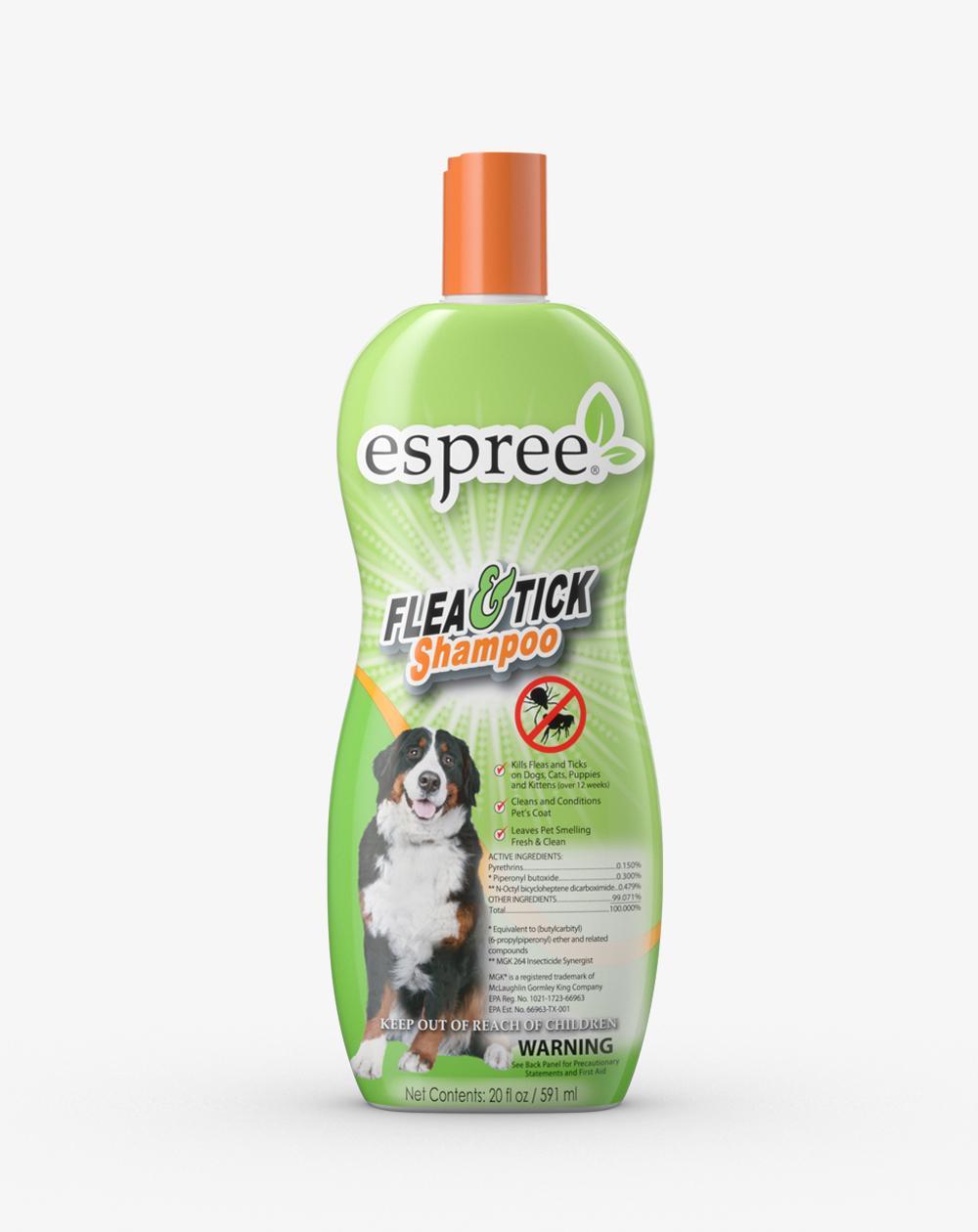 Espree Flea & Tick Dog Shampoo, 20-oz