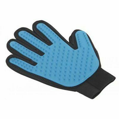 PetPals Magic Gloves Brush for Pets, Blue